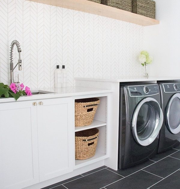 Designing Upscale Laundry Rooms with Natural Stone
