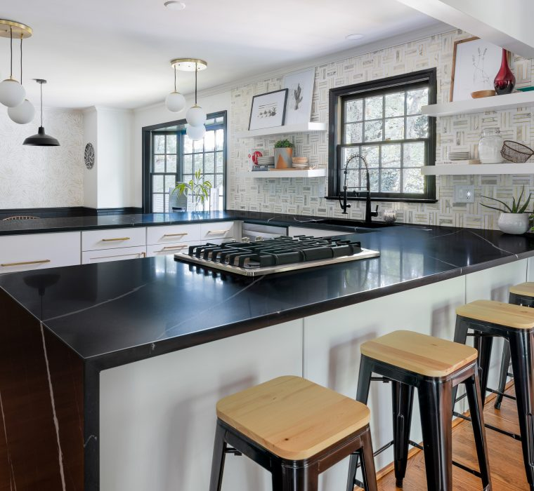 Eternal Marquina Silestone Quartz Countertops